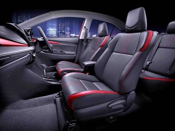 ดีไซน์ภายใน Toyota Vios