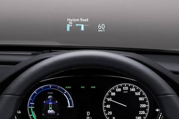HEAD-UP DISPLAY ระบบแสดงข้อมูลบนกระจกหน้า