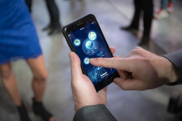 มีการส่งข้อมูลผ่านแอพพลิเคชั่น ในรถยนต์ Vision Urbanetic