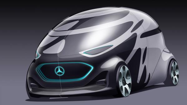 Vision Urbanetic สุดยอดรถยนต์นวัตกรรมสุดล้ำ จาก  Mercedez Benz
