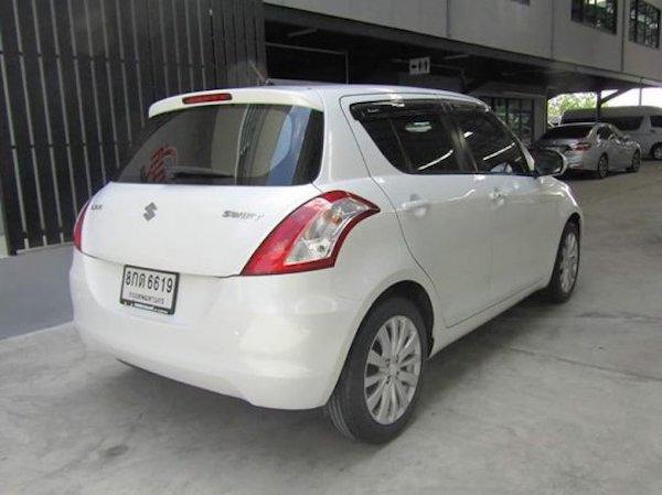 ขายรถ Suzuki Swift 2012-2016  เปลี่ยนจาก Compact Car มาเป็น Eco Car ด้วยการลดขนาดของเครื่องยนต์