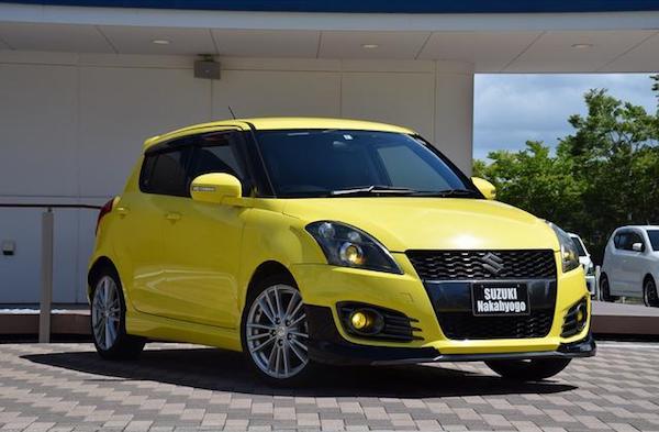 Suzuki Swift ในประเทศญี่ปุ่นนั้นจะนิยมนำมาแต่งกันอย่างมาก