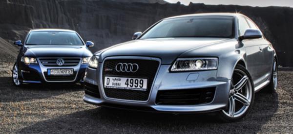 การพัฒนาและผลิตรถของ Audi และ Volkswagen