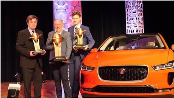 การประกาศรางวัลรถยนต์ยอดเยี่ยมแห่งปีตกเป็นของ Jaguar I-Pace