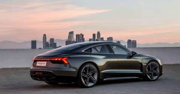 รถยนต์คันเท่ กับ Audi e-tron GT Concept