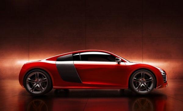 รถยนต์ New R8 e-tron ที่สุดเจ๋ง