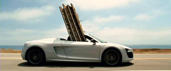 รถสุดหรูในห้องทำงานของ Tony Stark กับ The new R8 Spyder