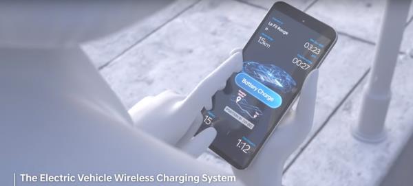 สามารถสั่งการให้รถยนต์วิ่งอัตโนมัติไปยังจุดชาร์จด้วย Smart Phone