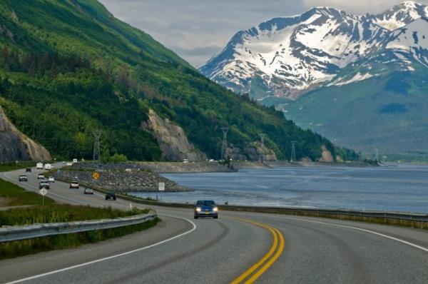 ถนน Seaward Highway ประเทศสหรัฐอเมริกา