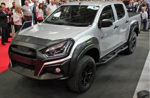 โฉมหน้าเต็มๆ ของ Isuzu D-Max XTR 2019 ที่จะลุยตลาดรถอังกฤษ
