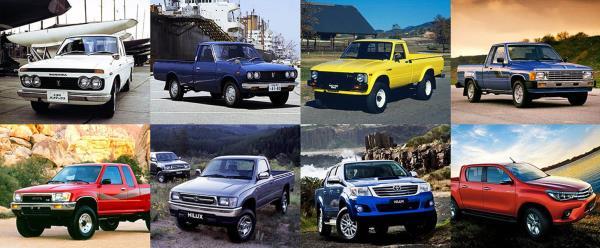 กว่า 50 ปีกับ Toyota Hilux ที่บุกตลาดรถกระบะและสร้างปรากฎการณ์ต่าง ๆ ในวงการรถมากมาย