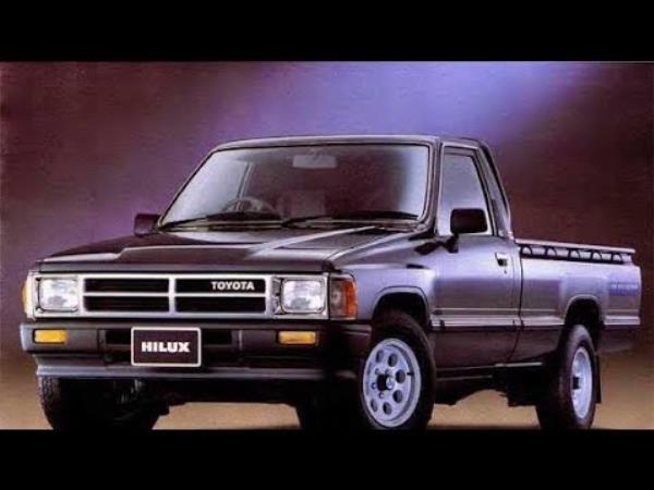 โฉมหน้าของ Toyota Hilux Hero ที่เป็นรุ่นเปิดตลาดรถกระบะยุคแรก ๆ ในไทย