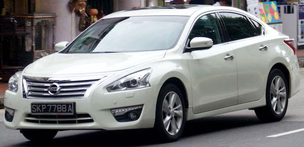 Nissan Teana L33 โฉมมีรูปลักษณ์คล้ายกับ Nissan Sylphy เป็นอย่างมาก