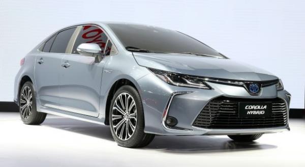 การดีไซน์เพิ่มเติมของ Toyota Corolla 2019 ในจีน
