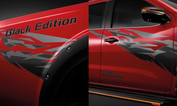 Nissan Navara Black Edition 2019 กับลายกราฟฟิกสุดเท่