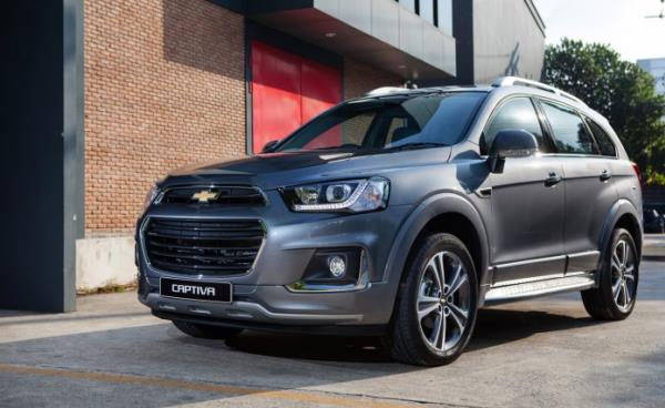 Chevrolet Captiva รถ SUV ทรงสมรรถนะขวัญใจคนยุคใหม่