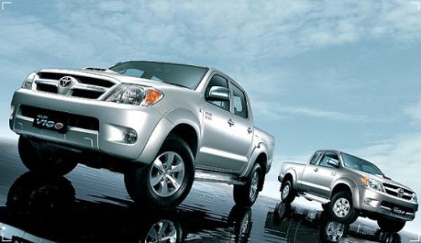 รถยนต์ Toyota Hilux Vigo รถยอดนิยมในตลาดรถมือสอง