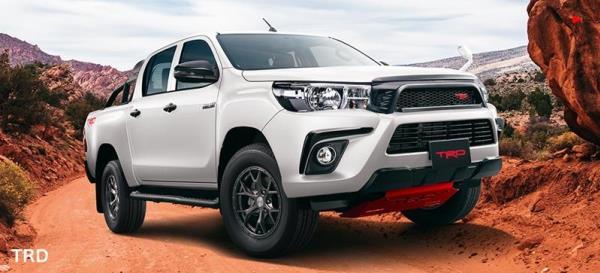 Toyota Hilux 2020 ไม่แตกต่างจากตัว Toyota Hilux Revo ที่ขายในบ้านเรา
