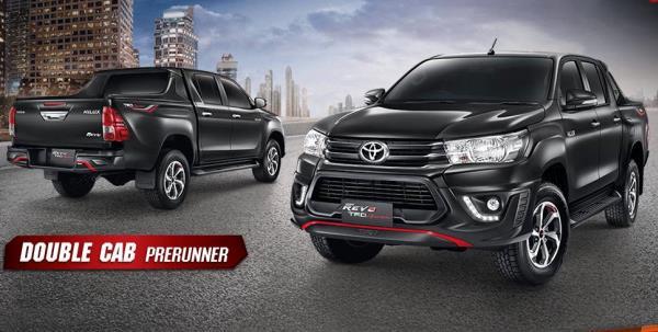 Toyota Hilux Revo 4ประตู เกียร์ออโต้ TRD ปี 2017 รถสวย 727,000 บาท