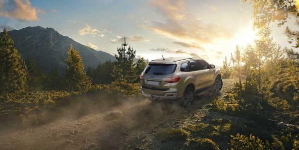 Ford Everest 2019 พร้อมลุยทุกเส้นทางไปกับคุณ