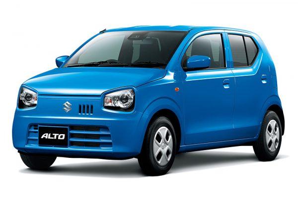 "Suzuki Alto L limited สีน้ำเงิน ""Brisk Blue Metallic"""