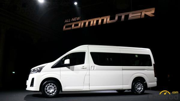 All New Toyota Commuter 2020 ถูกดีไซน์มาเพื่อให้มีความหรูหรา และ ปลอดภัยมากยิ่งขึ้น