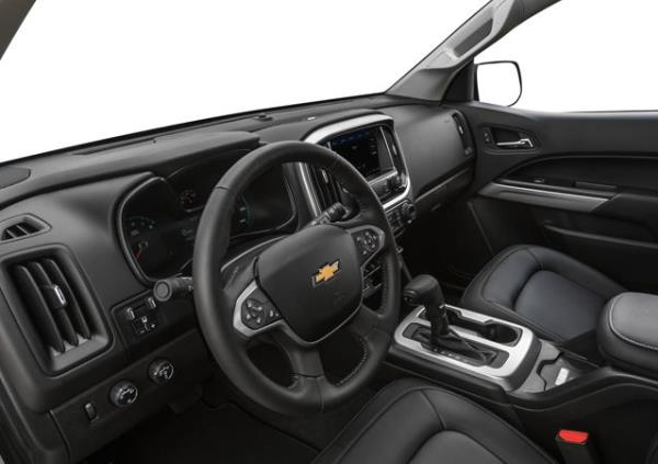 รีวิวภายในห้องโดยสาร Chevrolet Colorado 2019