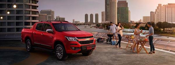 Chevrolet Colorado 2019 รุ่น 4 ประตู