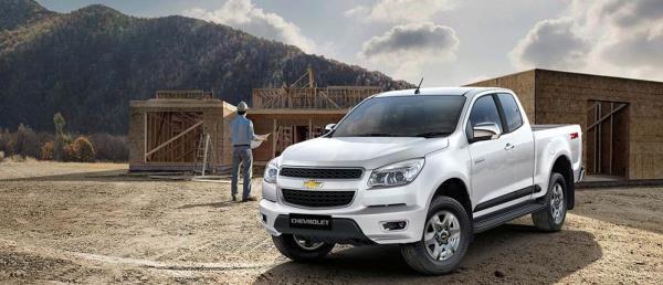 Chevrolet Colorado 2019 รุ่น 2 ประตู