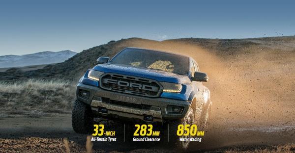 Ford Ranger Raptor ใครชอบความแรงและหนึบ ต้องเล่นรุ่นนี้เลย