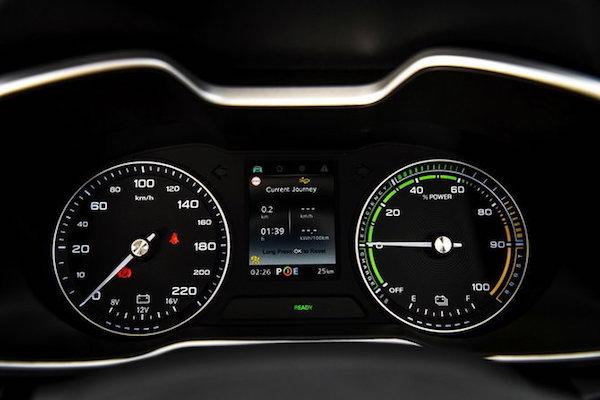 มาตรวัดเรืองแสงดูง่าย พร้อมหน้าจอ LED บอกข้อมูลของรถ