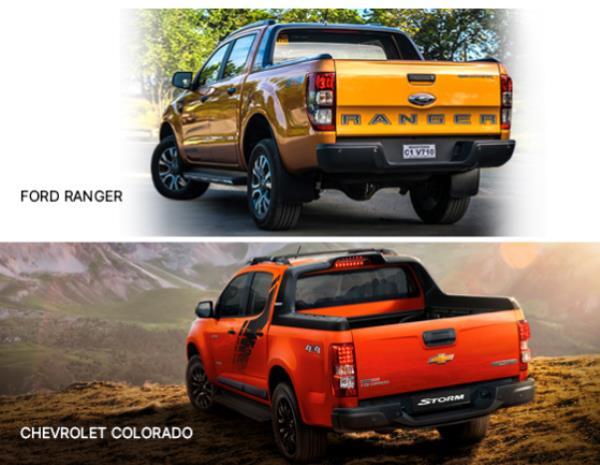 ปะทะ Ford Ranger Wildtrak VS. Chevrolet Colorado High country