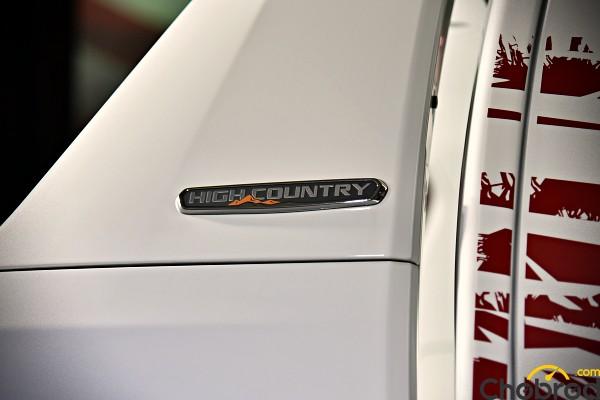 พื้นฐานจากกระบะรุ่น Chevrolet Colorado High Country