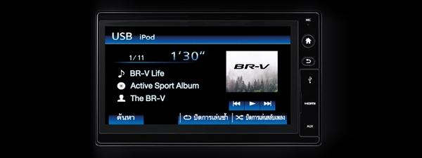 เทคโนโลยีของ Honda BR-V ที่ล้ำสมัย
