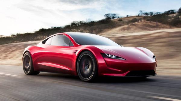 รถยนต์ EV จาก Tesla ที่เติบโตอย่างรวดเร็ว