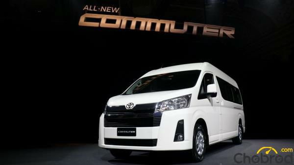 Toyota Commuter โมเดลเชนจ์ใหม่