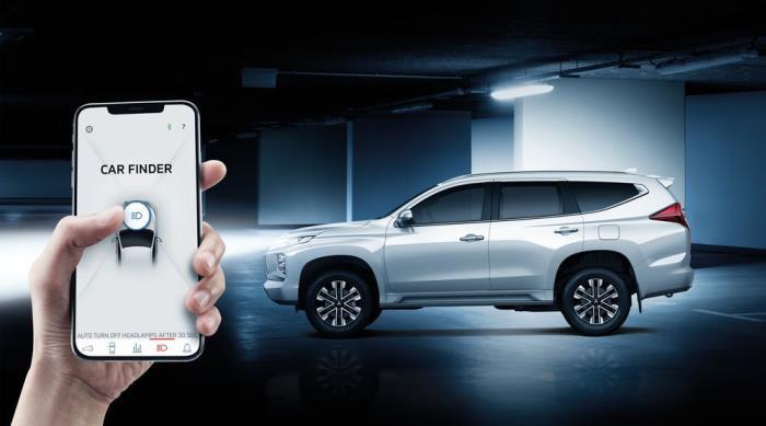 ระบบการเชื่อมต่อผ่านสมาร์ทโฟนในรุ่น 4WD GT-Premium