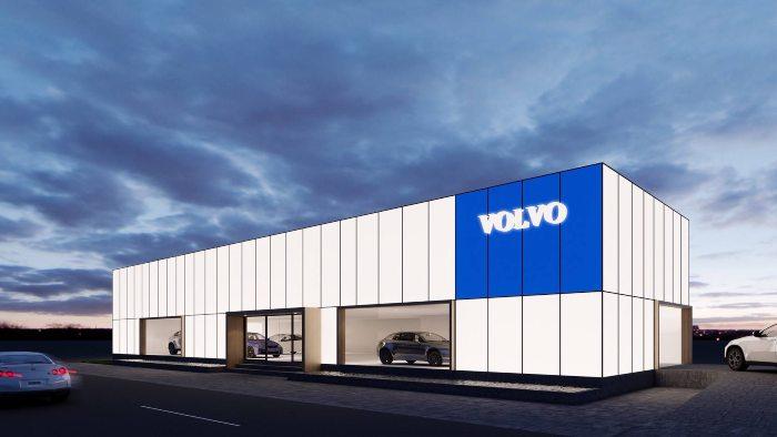 Volvo เตรียมเปิดโชว์รูมใหม่ในไทย