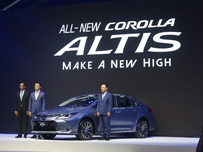 All New Toyota Corolla Altis 2019