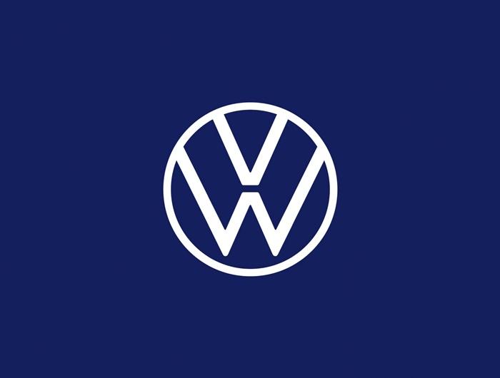 โลโก้ใหม่ของ Volkswagen