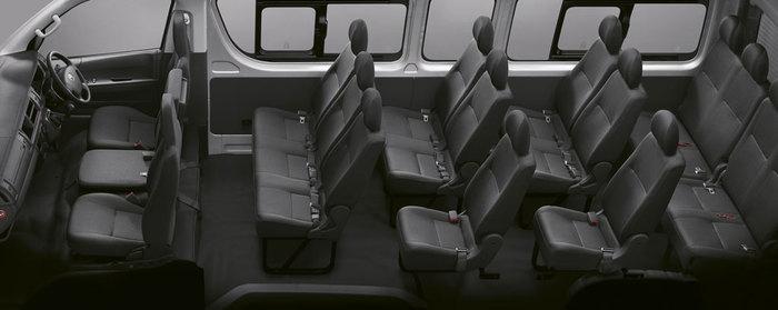 มาในขนาด 13 ที่นั่ง