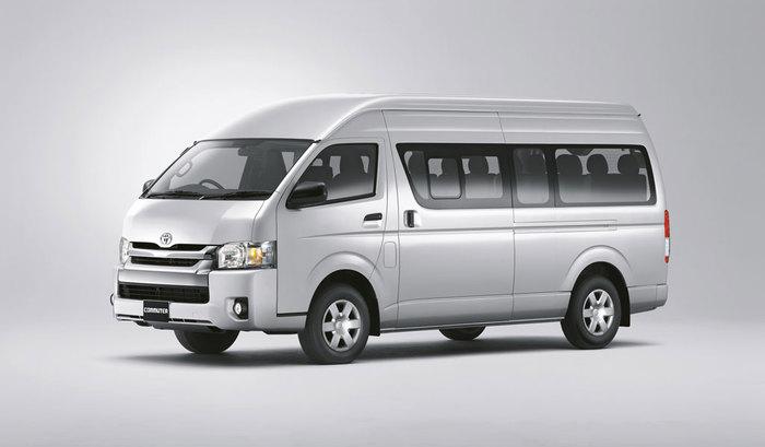 Toyota Commuter 2014