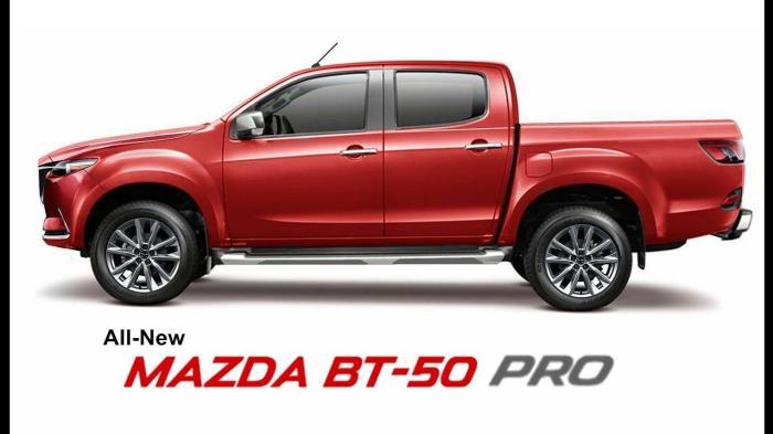ภาพ Render Mazda BT 50 Pro 2020 จากเว็ปไซต์ Drive
