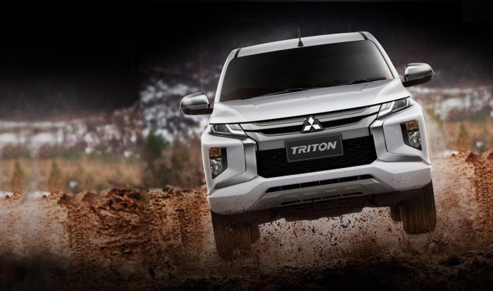 ดีไซน์ภายนอก Mitsubishi Triton 2019