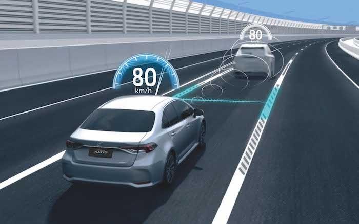 ระบบควบคุมและปรับลดความเร็วอัตโนมัติ DRCC แบบ All-speed Range