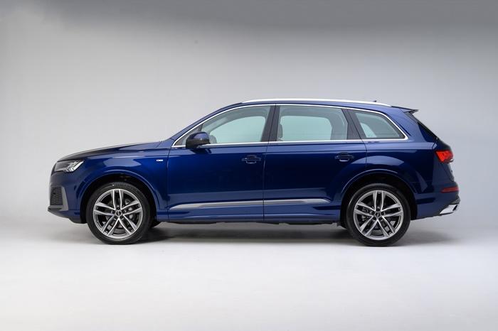 การดีไซน์ภายนอกของ Audi Q7