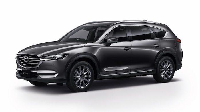 รถยนต์ 7 ที่นั่ง Mazda CX-8 2020