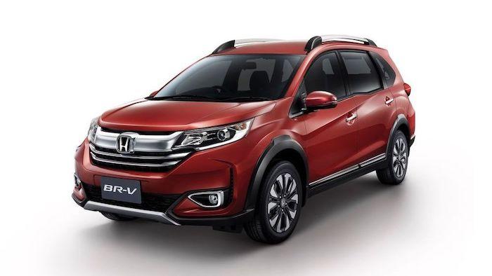 New Honda BR-V 2020 สีเเดงที่สุดฮอต ราคา เริ่มต้นที่ 765,000 บาท