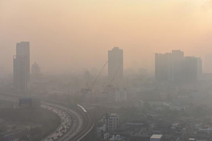 ปัญหามลพิษจากฝุ่นควันในปัจจุบัน