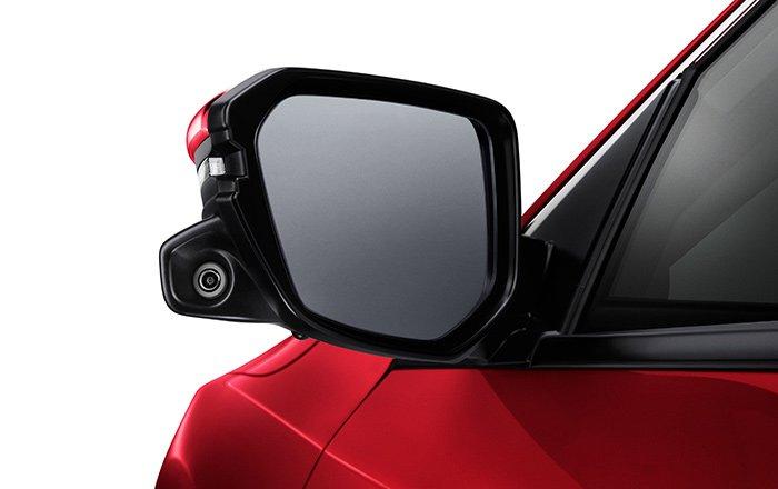 กล้องมองข้างขณะเปลี่ยนเลน Honda LaneWatch
